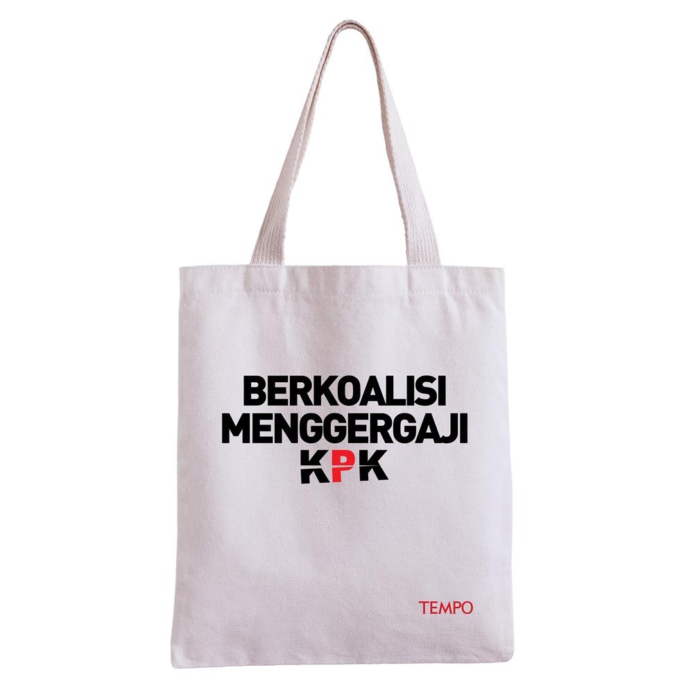 Totebag TEMPO Special Edition: Dukung KPK