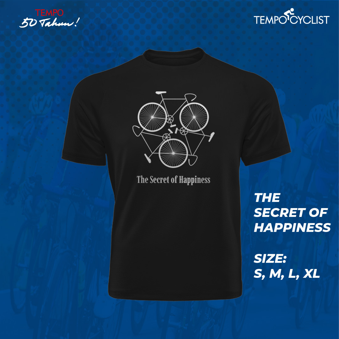 Tshirt The Secret of Happines - LIMITED EDITION