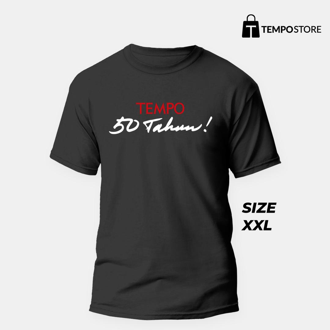 T-shirt special edition 50tahun Tempo (XXL)